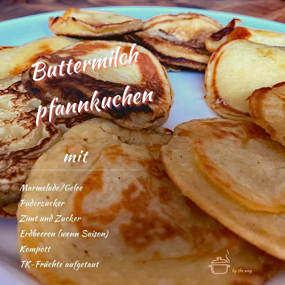 Buttermilchpfannkuchen