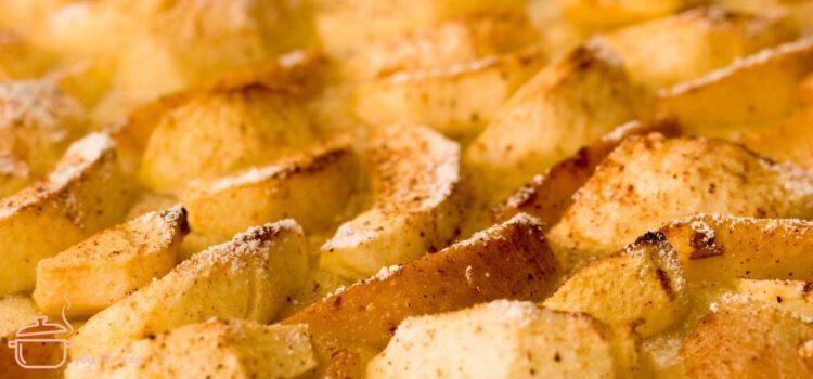 Omas Apfelkuchen vom Blech