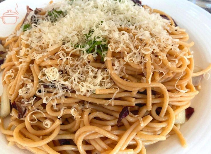 Pasta mit Radicchio