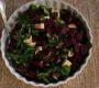 Rote Beete Salat (fast nach Jamie Oliver)