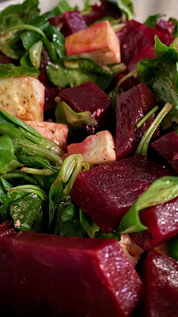 Rote Beete Salat nach Jamie Olivier