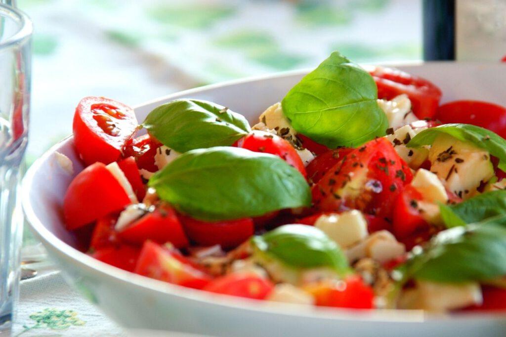 tomatensalate mozzarella