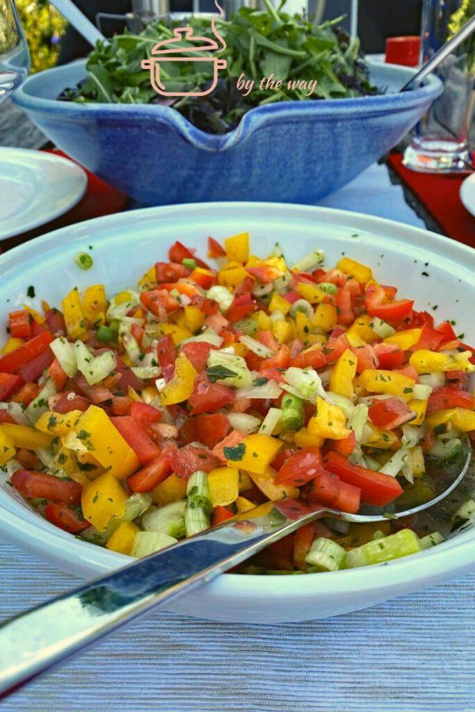 bunter sommerlicher Salat