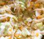 Porreesalat mit Mais Ei und Sellerie