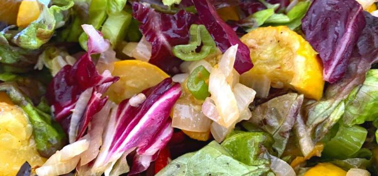 Antipasti Blattsalat
